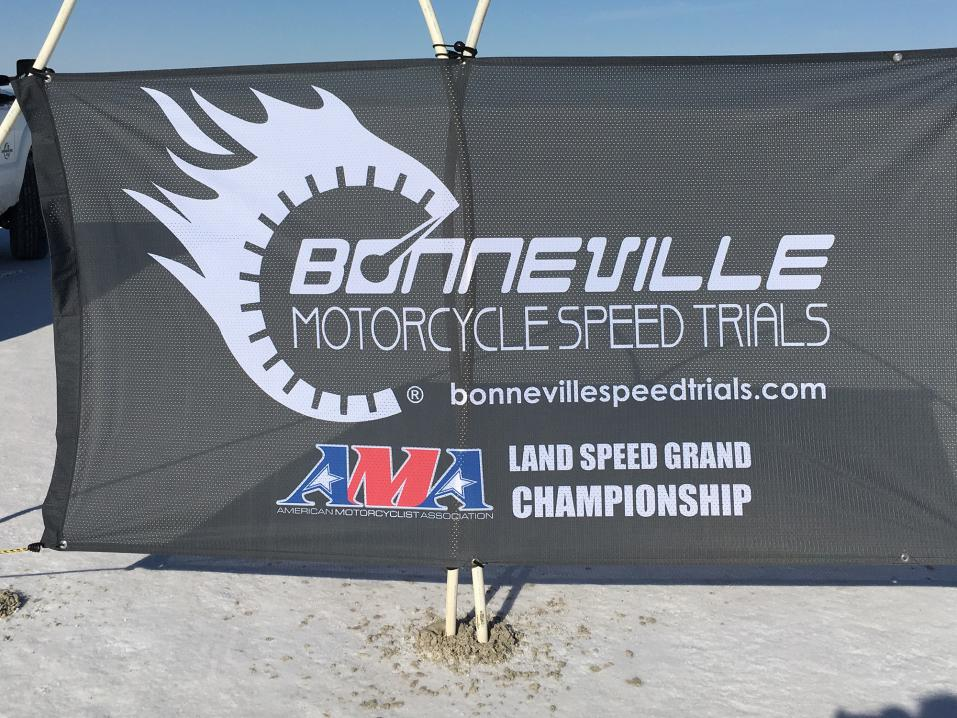Bonneville Motorcycle Speed Trials.