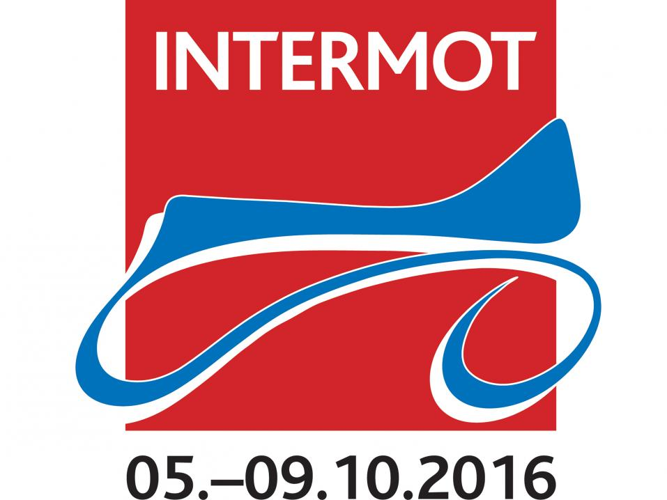 Kölnin Intermot -mp-messujen logo.