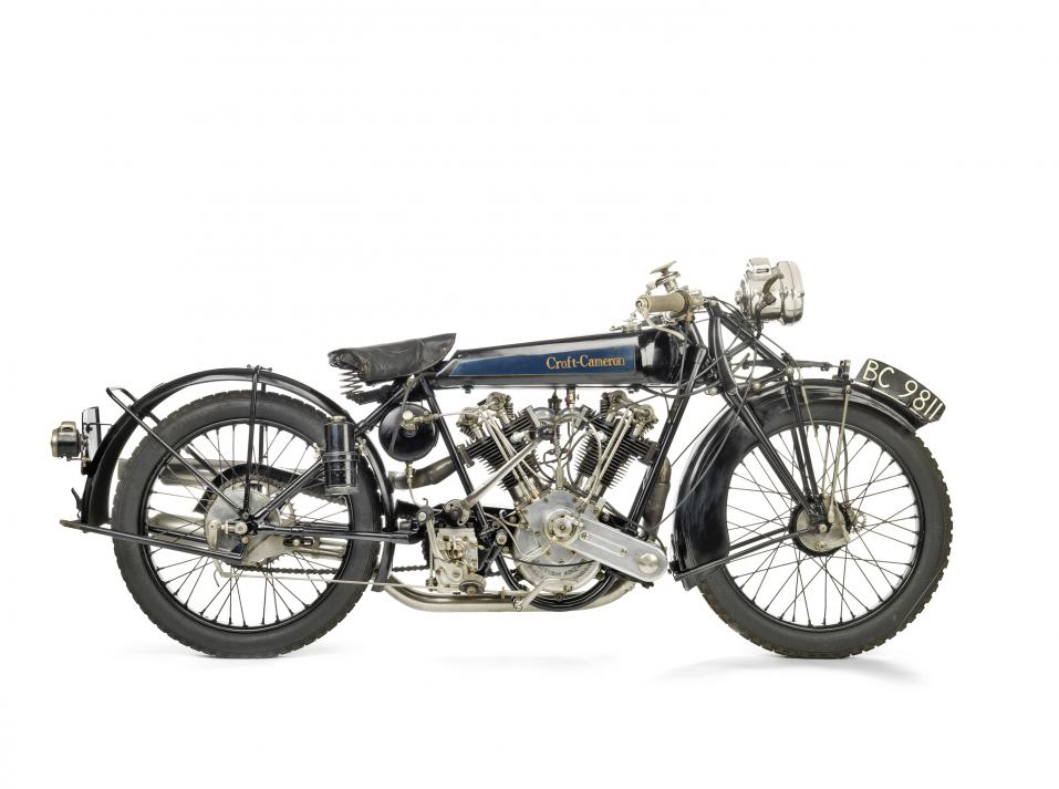 1924 Croft-Cameron 996 cm3 Super Eight. Kuva Bonhams.