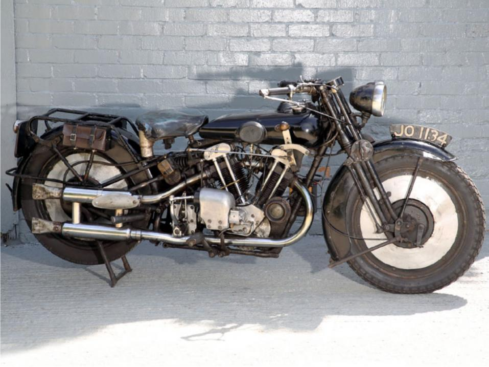 1930 Brough Superior 680 Black Alpine.