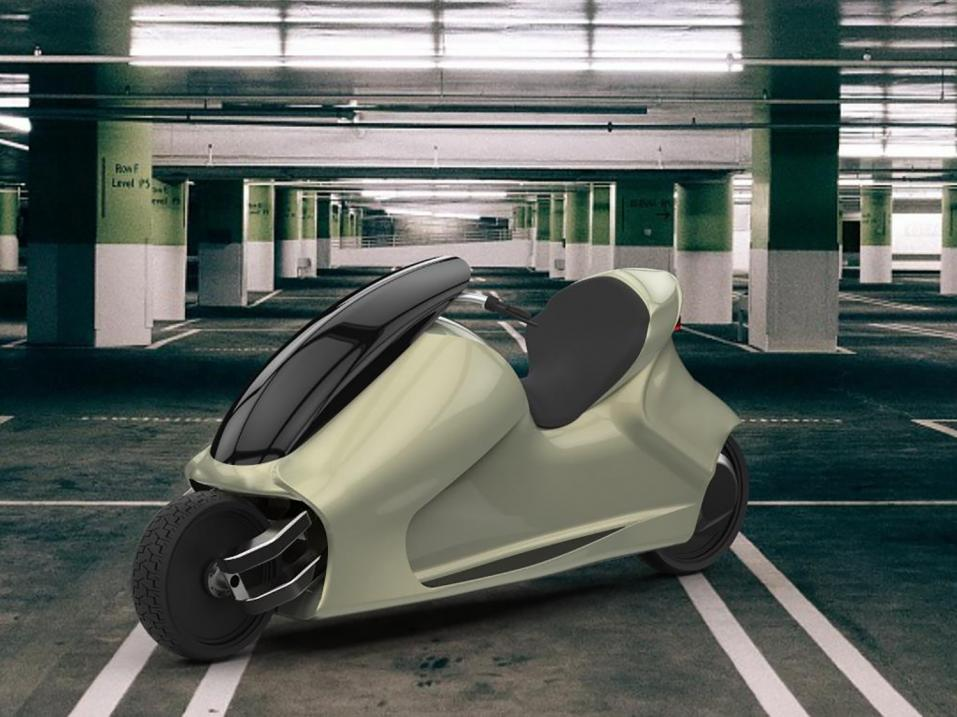 Thrustcycle Enterprisesin GyroCyclen renderöty versio.