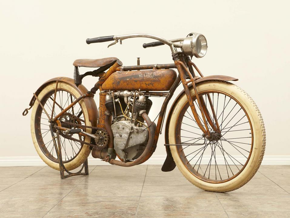 Flying Merkel Twin 1913.