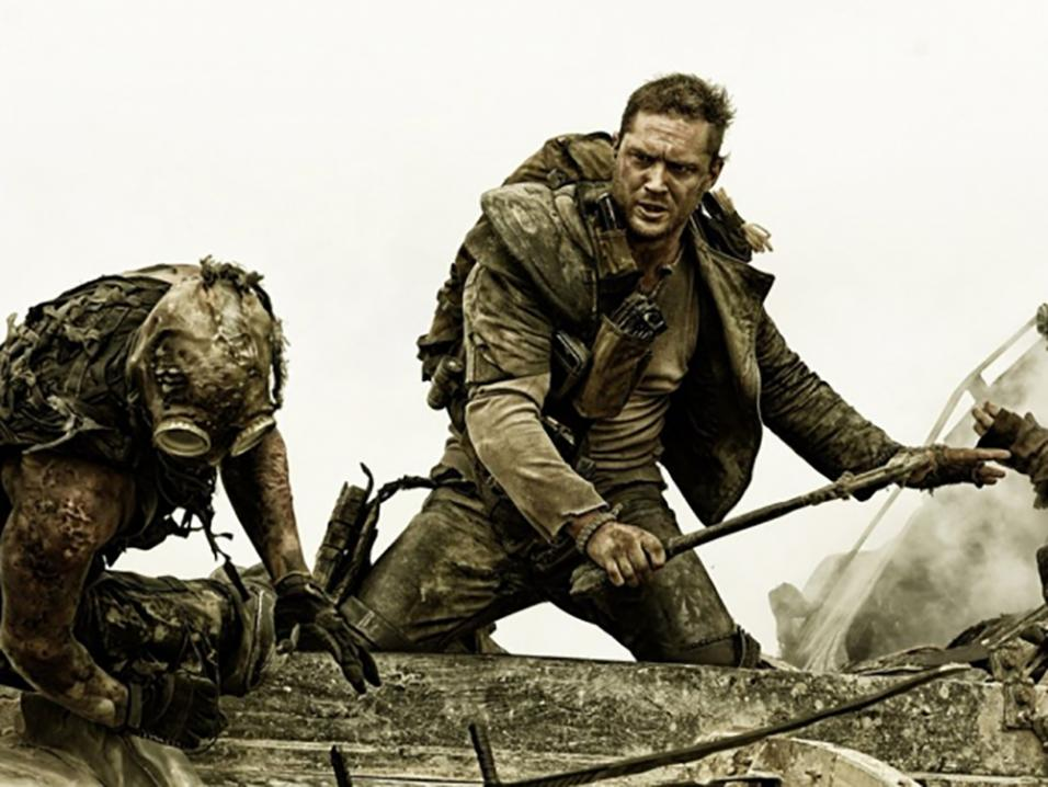Tom Hardy Mad Maxissa.