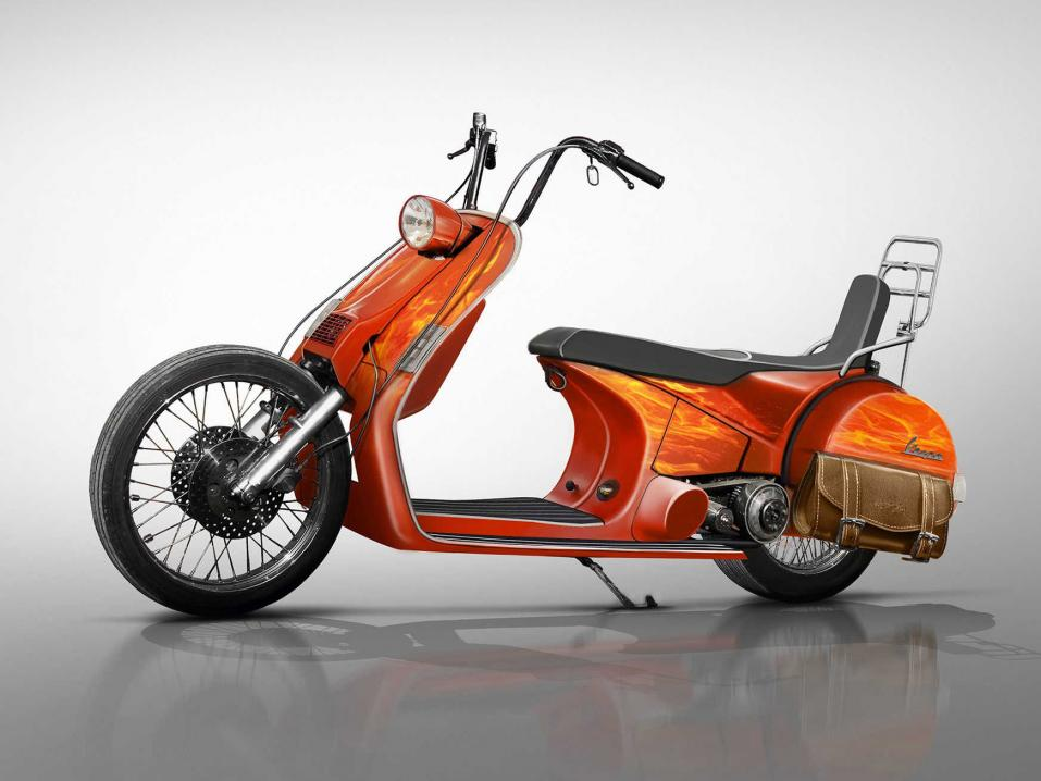 Vespa Chopper.