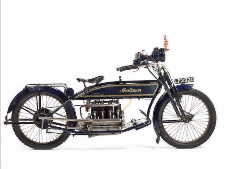 1914 Henderson 1,068cc Model C Four