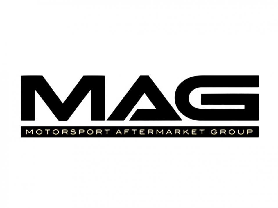 MAG:in, Motorcycle Aftermarket Group:in logo.