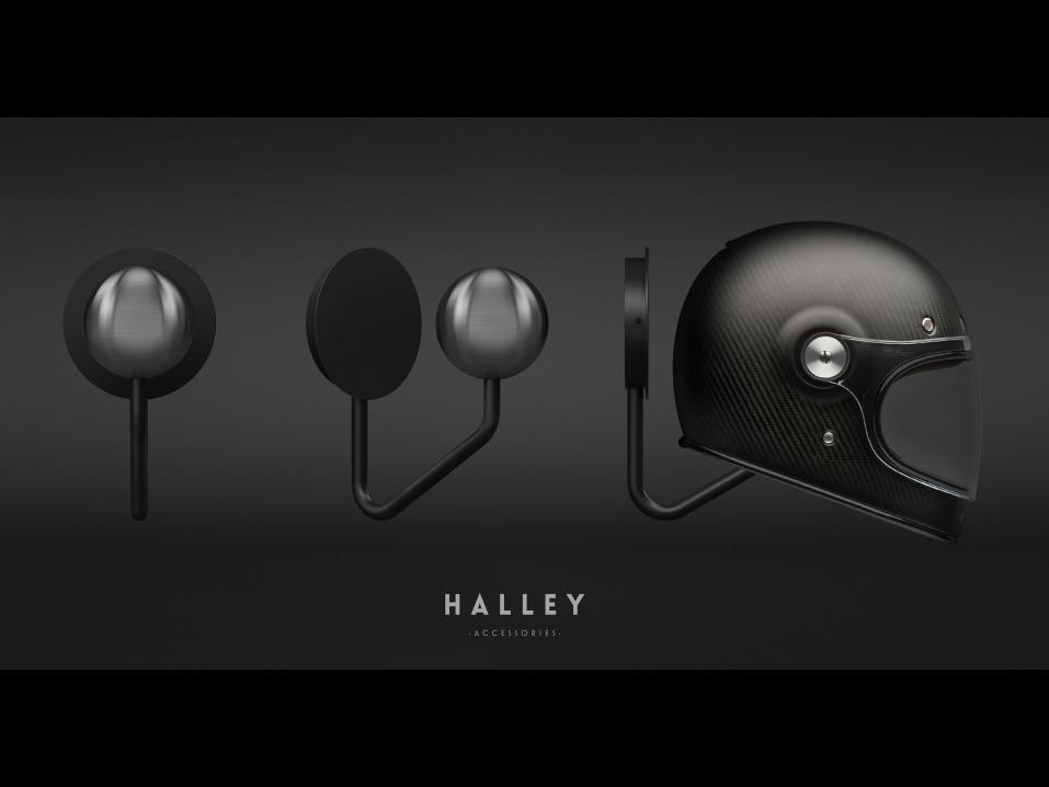 Halley Helmet Holder