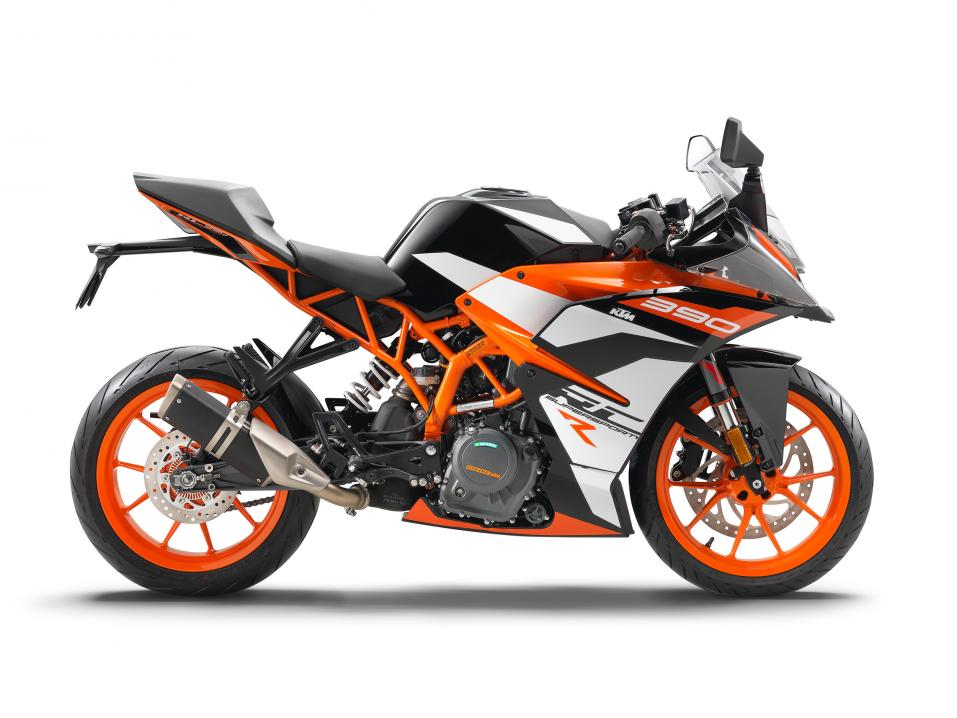 Uusi limited edition KTM RC 390 R.