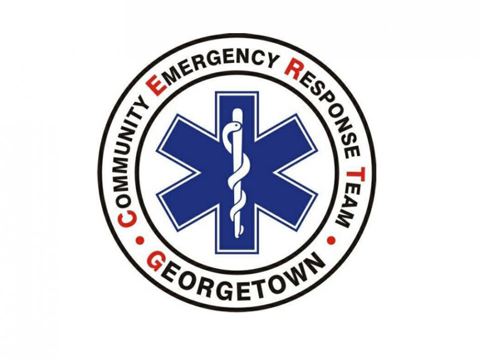 George Town Community Emergency Response Team, CERT.