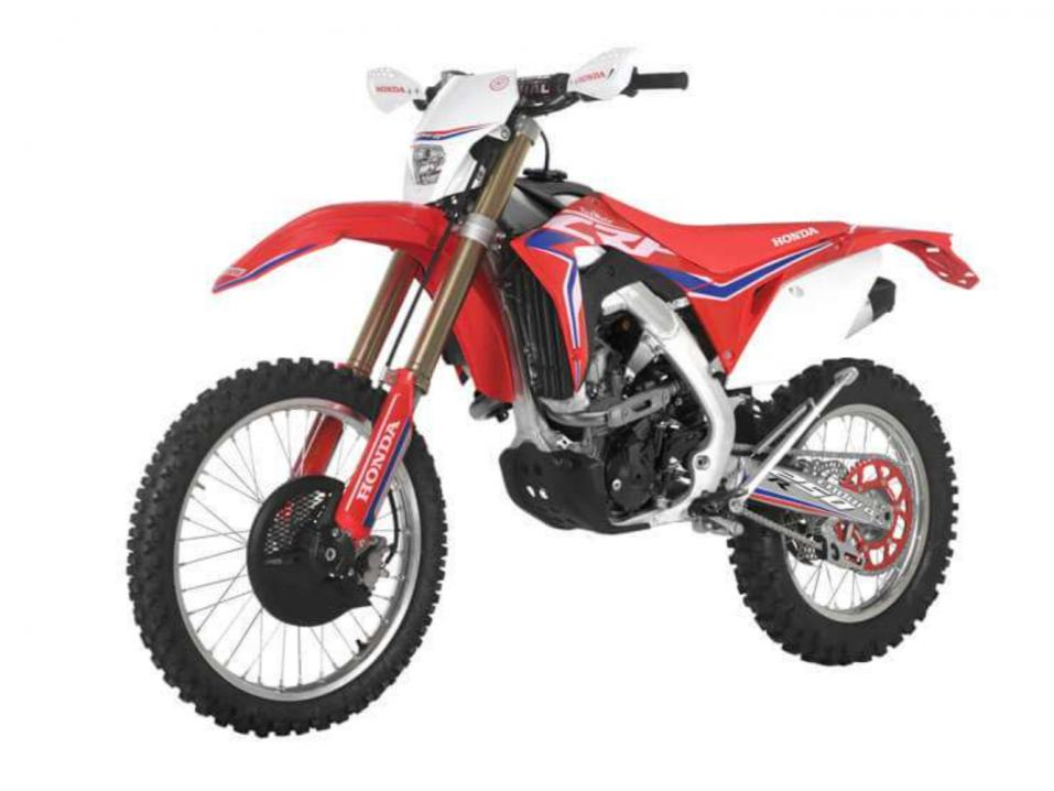 Vuosimallin 2018 Honda CRF250R Enduro by Red Moto