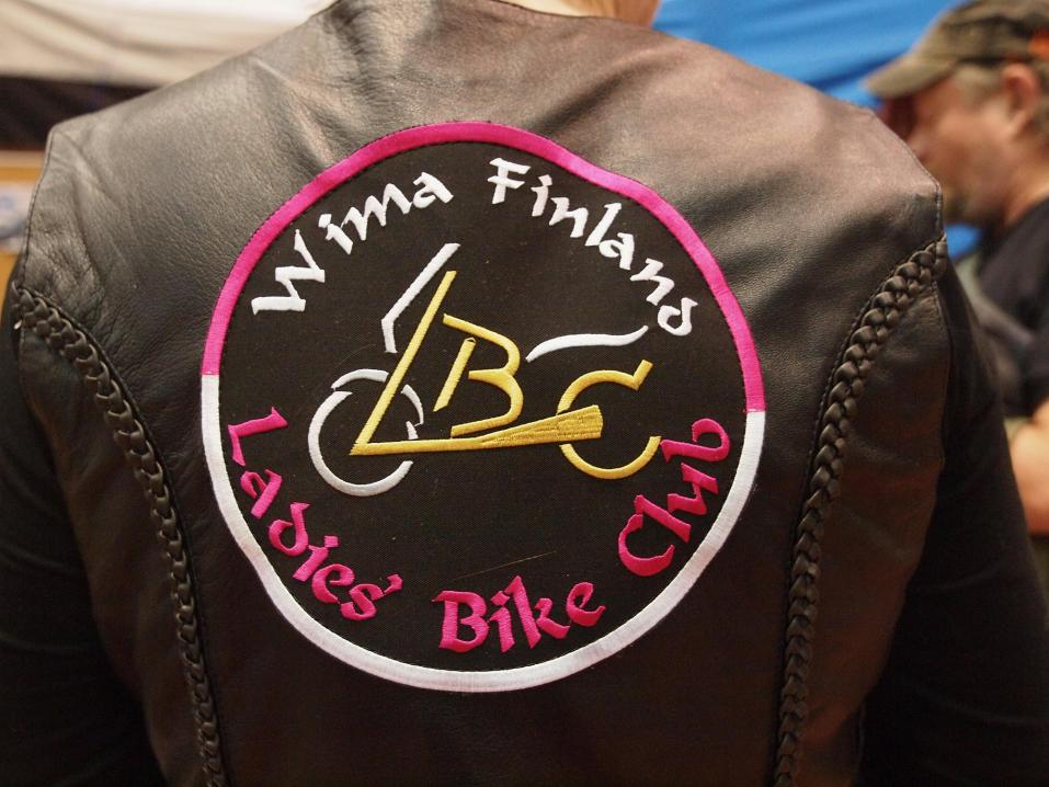 Wima Finland. Ladies´Bike club.