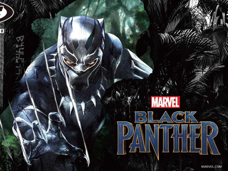 Marvelin Black Panther asuineen.