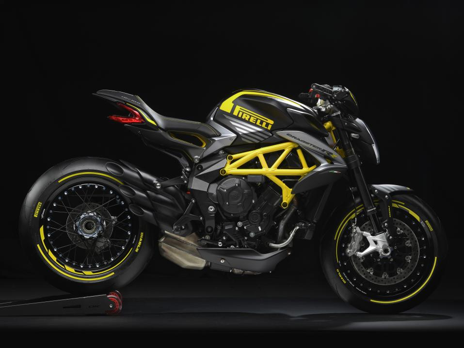 <p>MV Agusta Dragster 800 RR Pirelli limited edition</p>