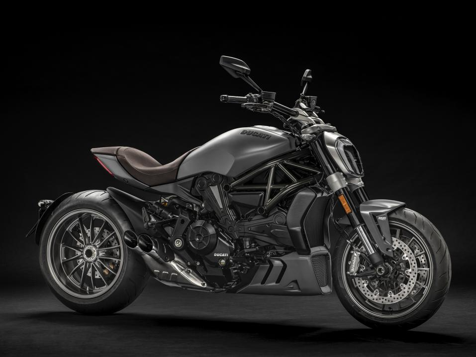 Ducati XDiavel Matt Liquid Concrete Grey 2019.