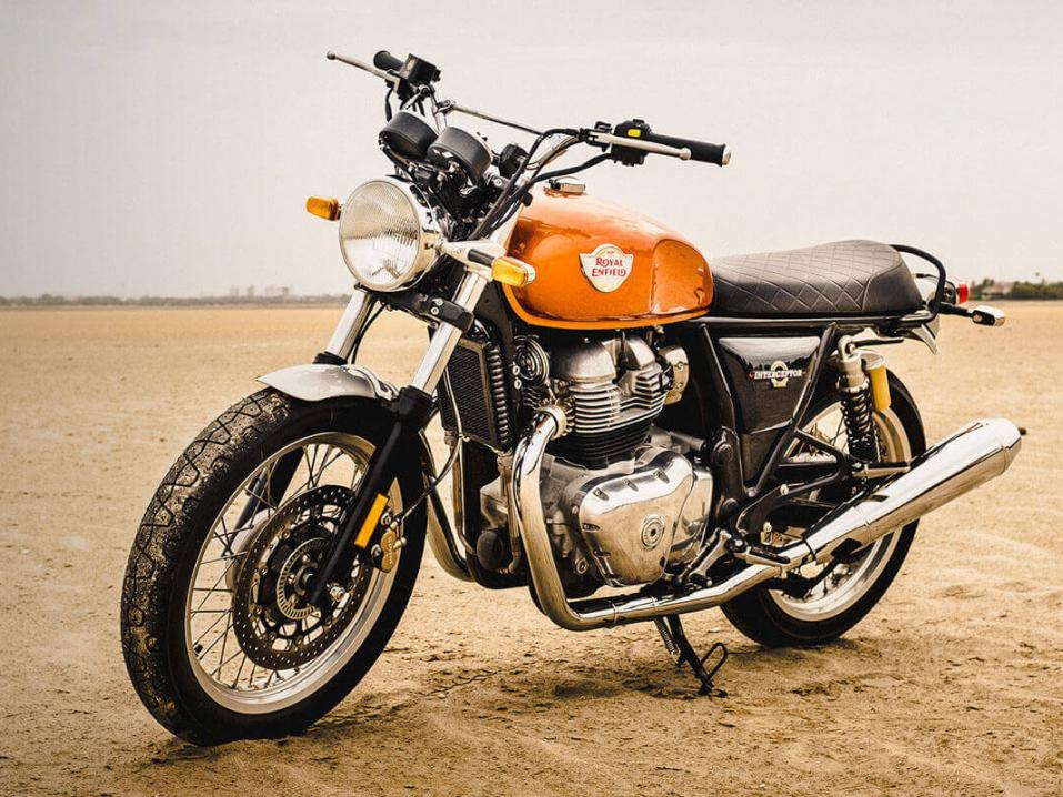 Royal Enfield Interceptor INT 650 -malli.
