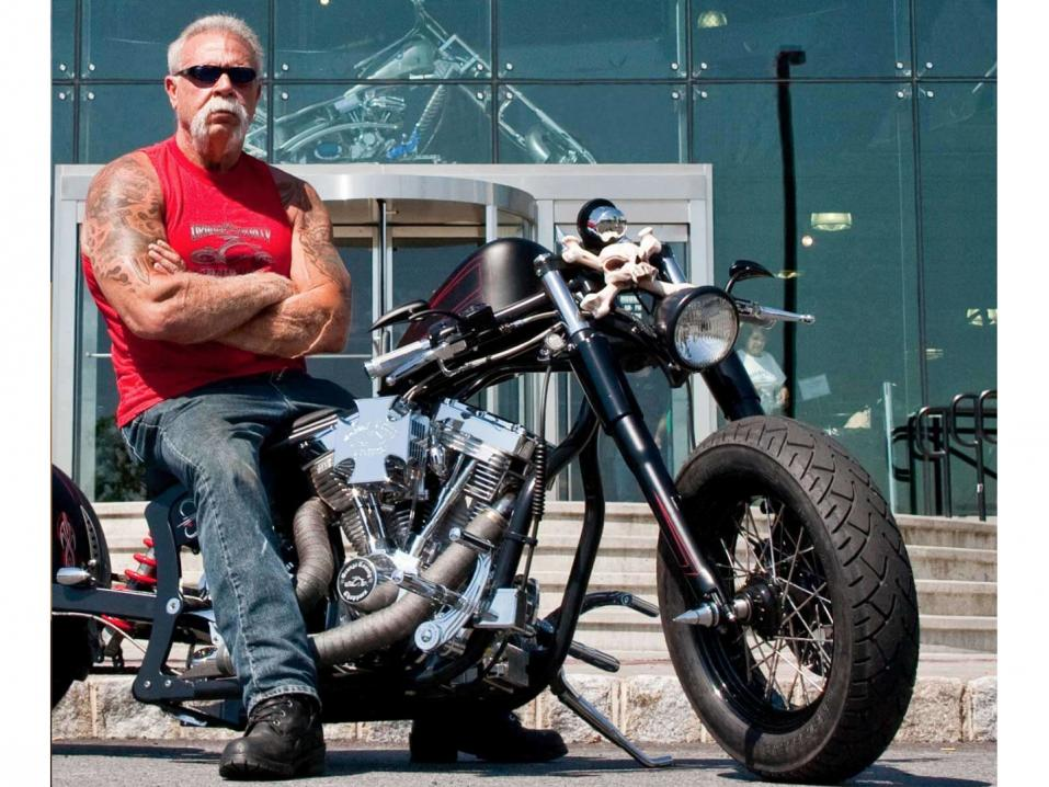 Orange County Choppersin ikinuori Paul Teutul Senior ajaa taas.