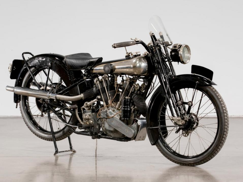 1925 Brough Superior SS100 Alpine Grand Sport