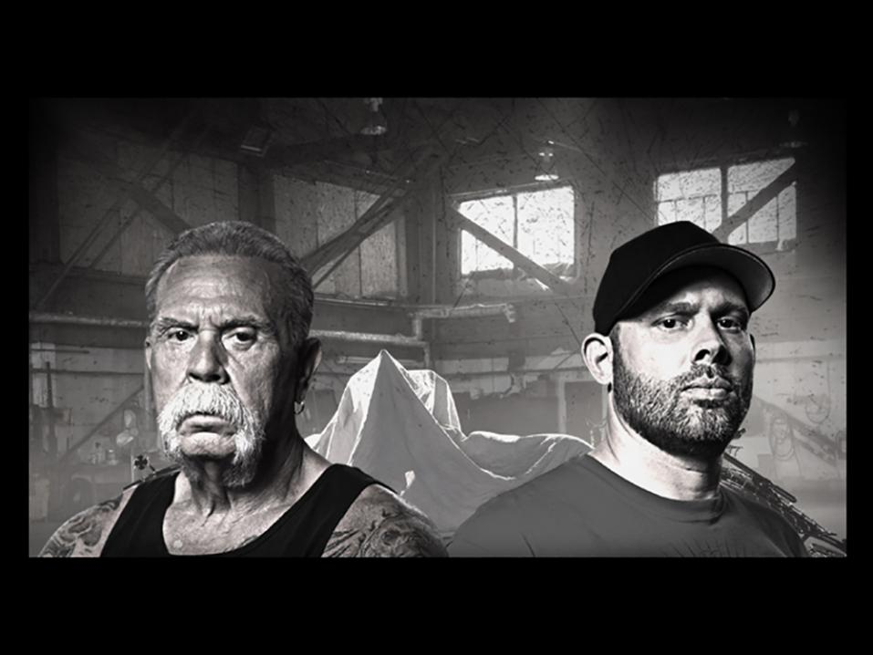 American Chopperin sankarit: Paul Teutul Senior ja Paul Teutul Junior. Kuva: Discovery.