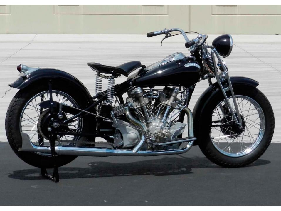 1940 Crocker Big Tank Big Twin.