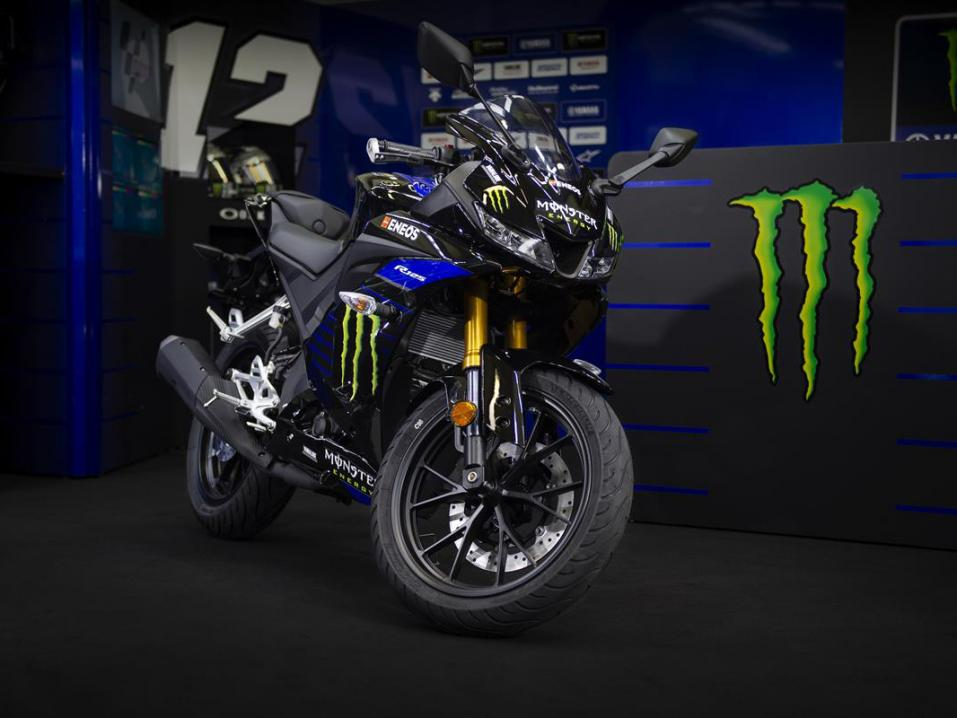 2019 YZF-R125 Monster Energy Yamaha MotoGP -malli.
