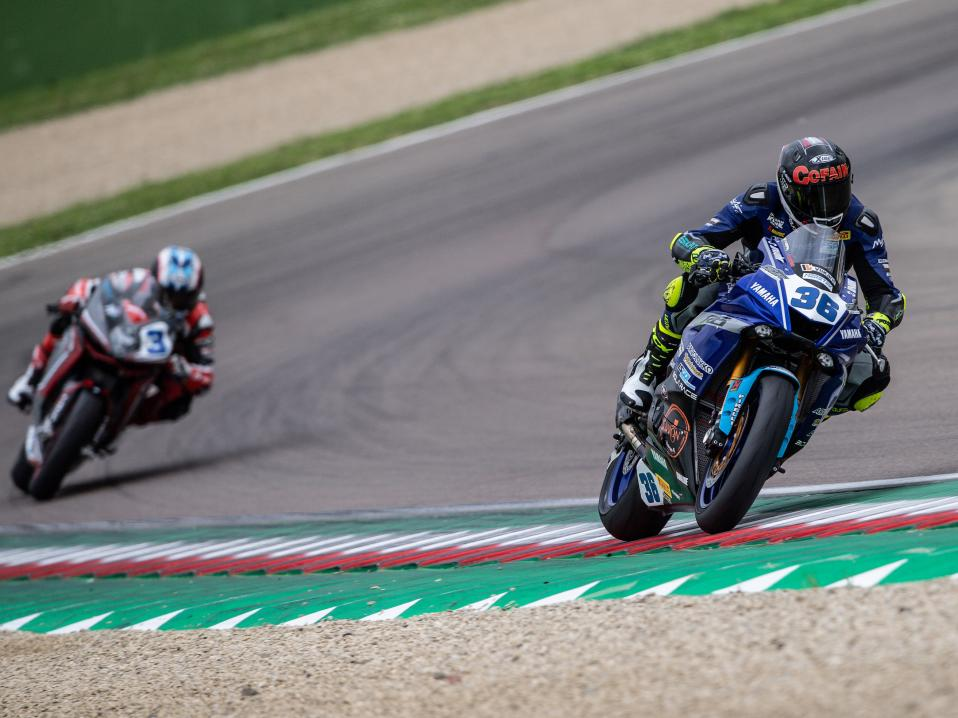 Thomas Gradinger. FIM Superbike World Championship, Round 05, 10-12 May 2019, WorldSBK, Imola, Italy. Kuva: Vaclav Duska Jr.