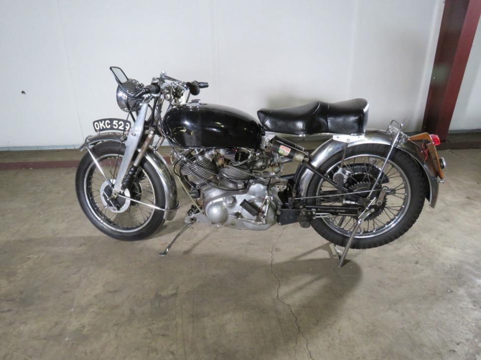 1952 Vincent Series C Rapide.