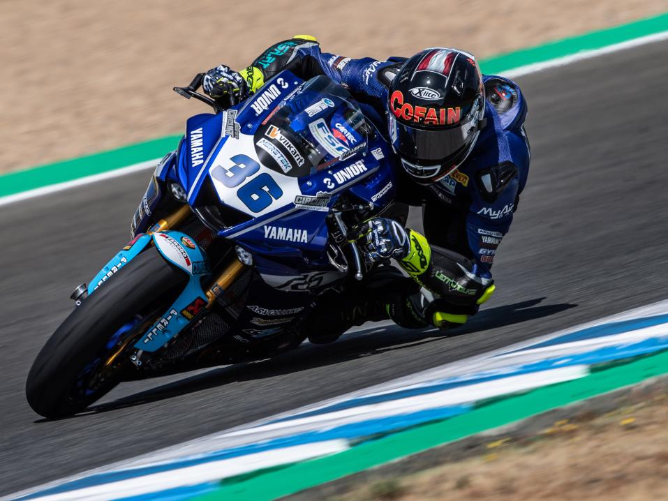 FIM Superbike World Championship, Round 06, 07-09 June 2019, WorldSBK, Jerez, Spain. Thomas Gradinger 36, kuva Václav Duška jr.