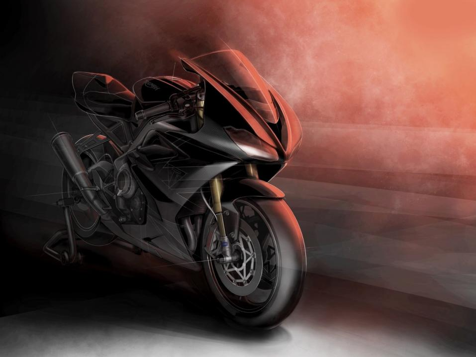 Triumph Daytona Moto2 765 limited edition.
