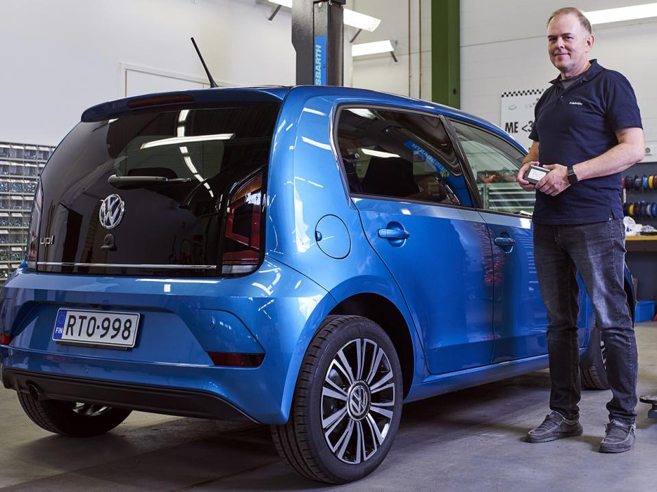 Volkswagen Up! -kevytauto.