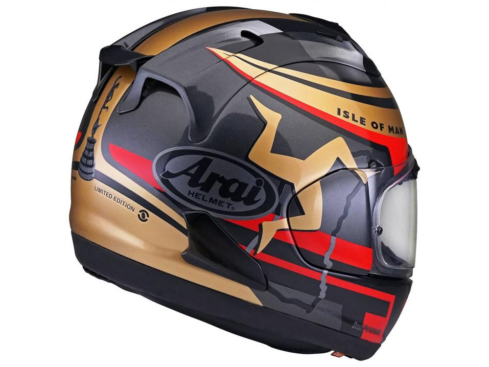 2020 Isle of Man TT Limited Edition Arai RX-7V.