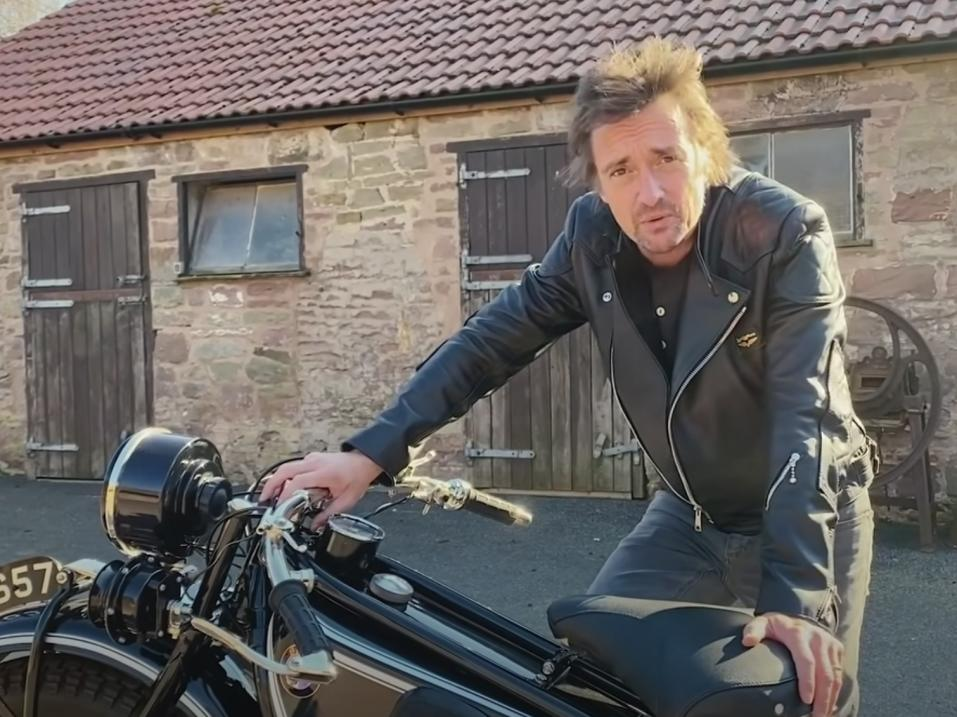 Richard Hammond, 'Long Way Round - on my Yard'.