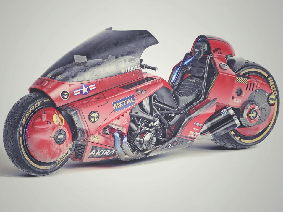 James Qiun Akira-bike design.