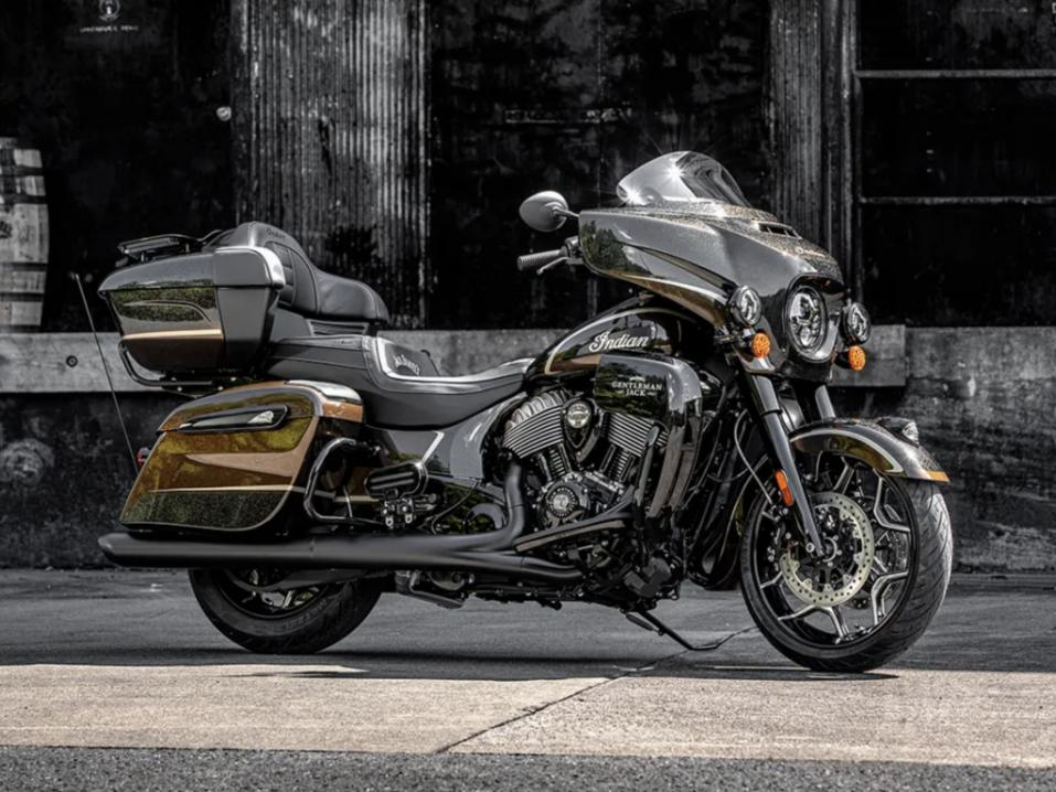 Indian Motorcycles Jack Daniels Roadmaster Dark Horse limited edition 2021.