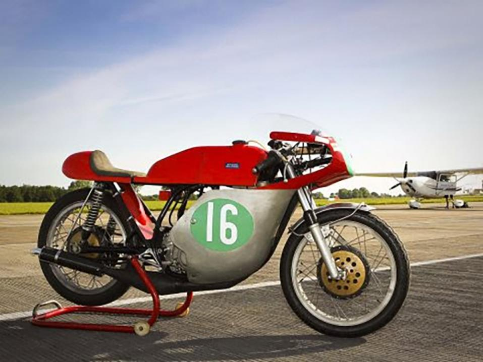 1968 Barry Sheene Bultaco TSS 250.