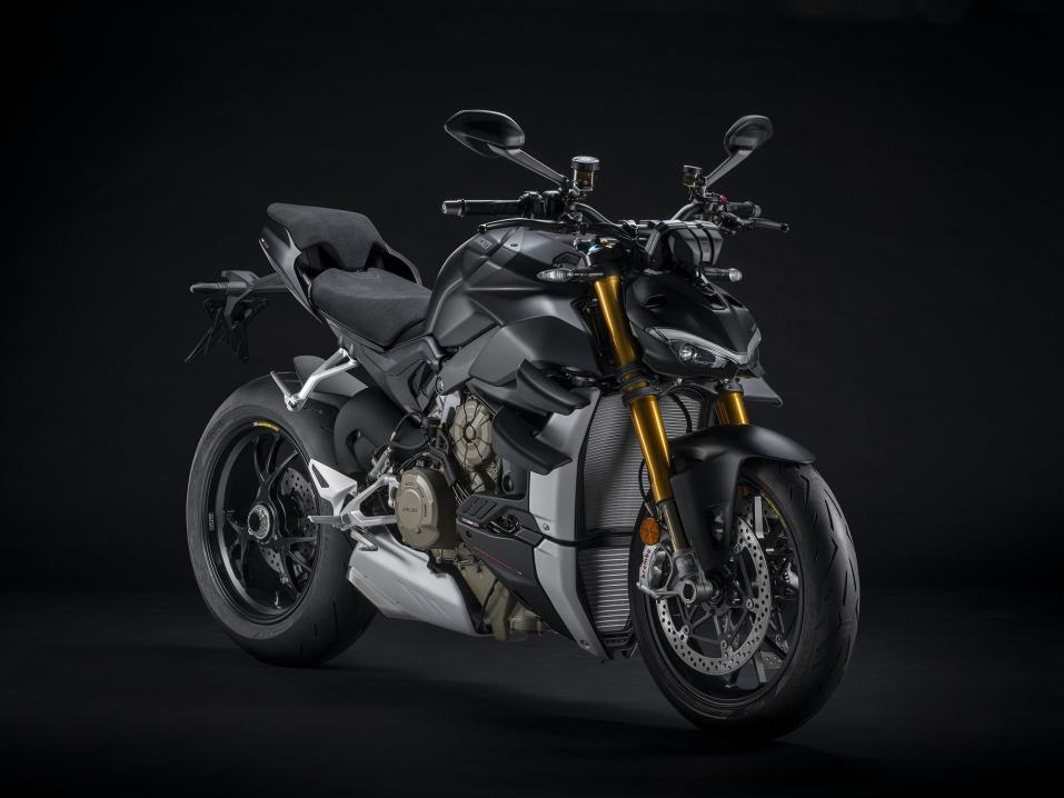Ducati V4 Streetfighter Dark Stealth 2021.