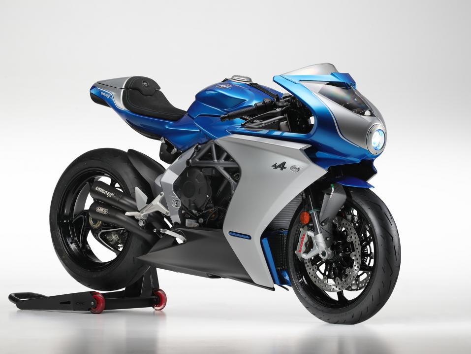 Limited edition MV Agusta Superveloce Alpine.
