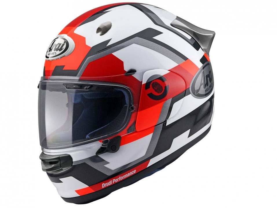 Arai Quantic Face Red