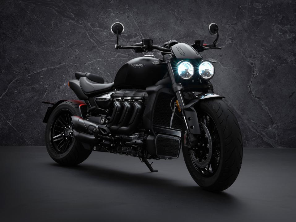 Triumph Rocket 3 R Black limited edition.