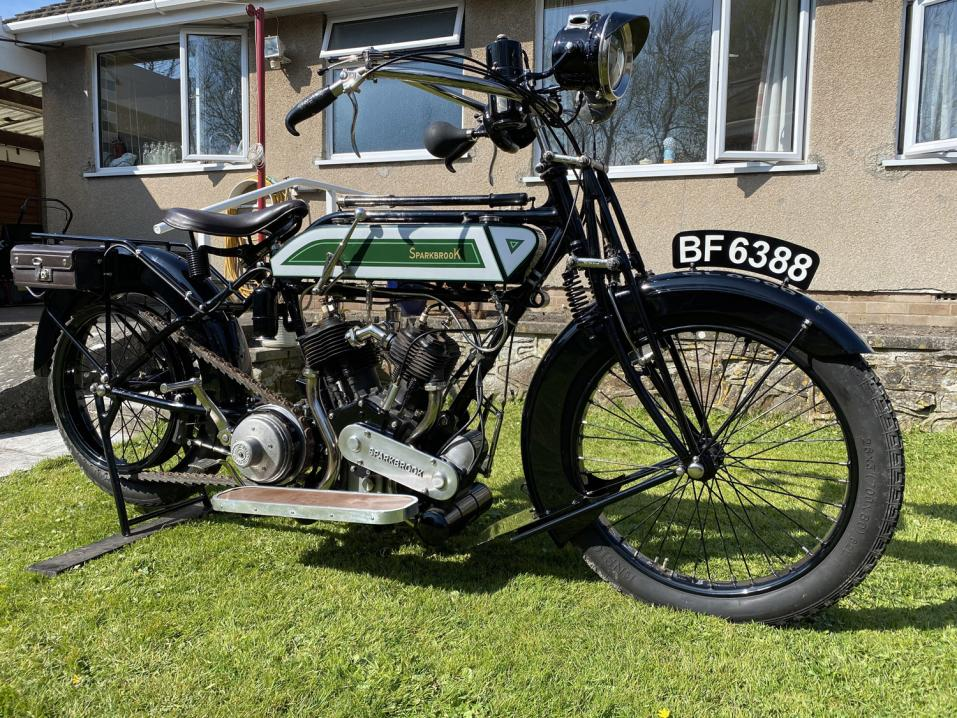 1914 Sparkbrook Vee Twin.