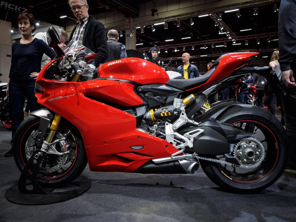 MP-Messut 2015: Ducati 1299 Panigale.