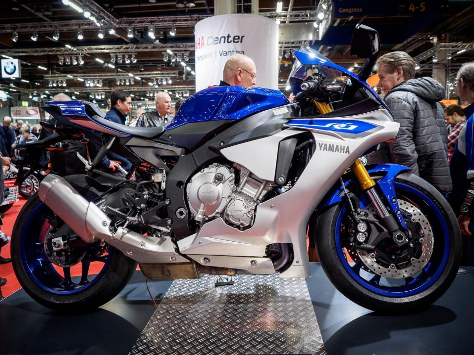 MP-messut 2015:  Yamaha YZF-R1.