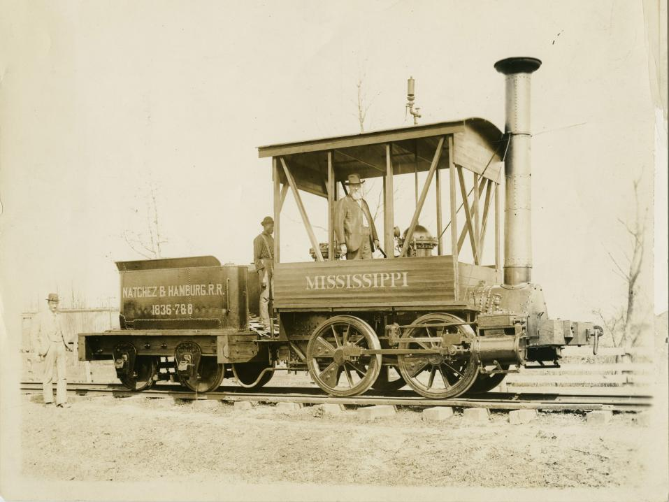 Train accession photopgraphs from the collections of the Museum of Science and Industry