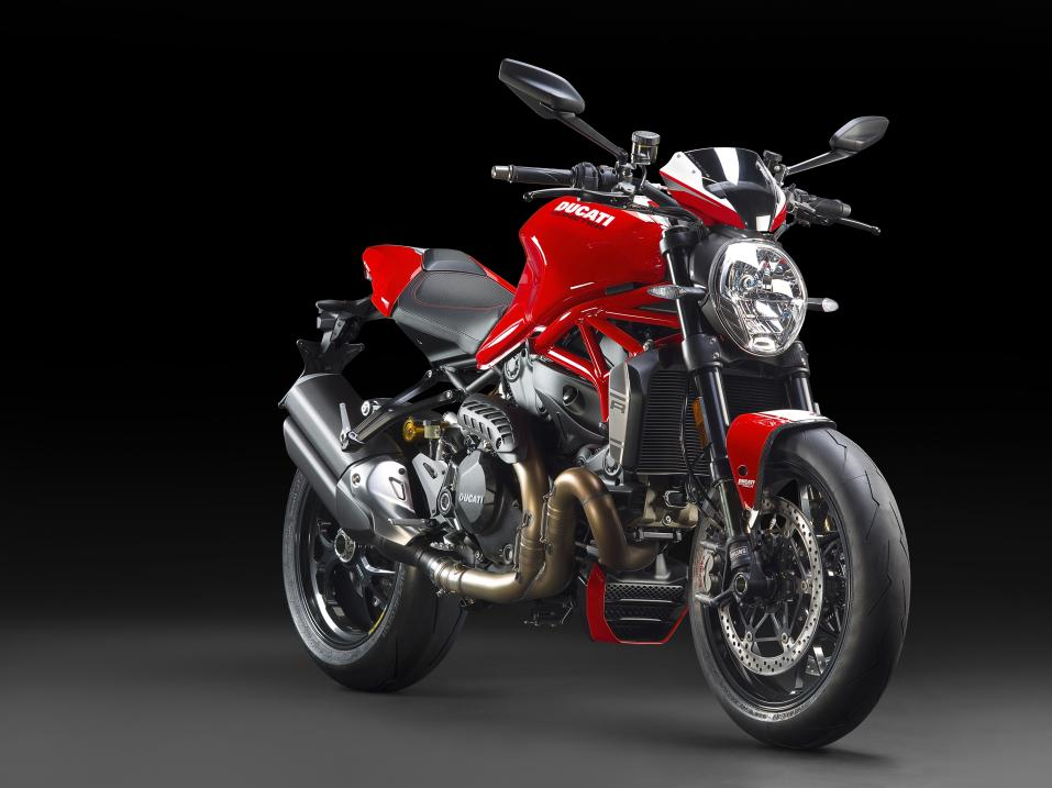 Vuosimalin 2016 Ducati Monster 1200R.