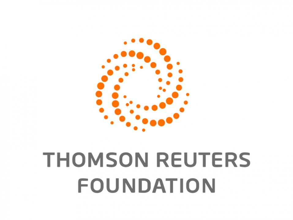 Thomson Reuters Foundationin logo.