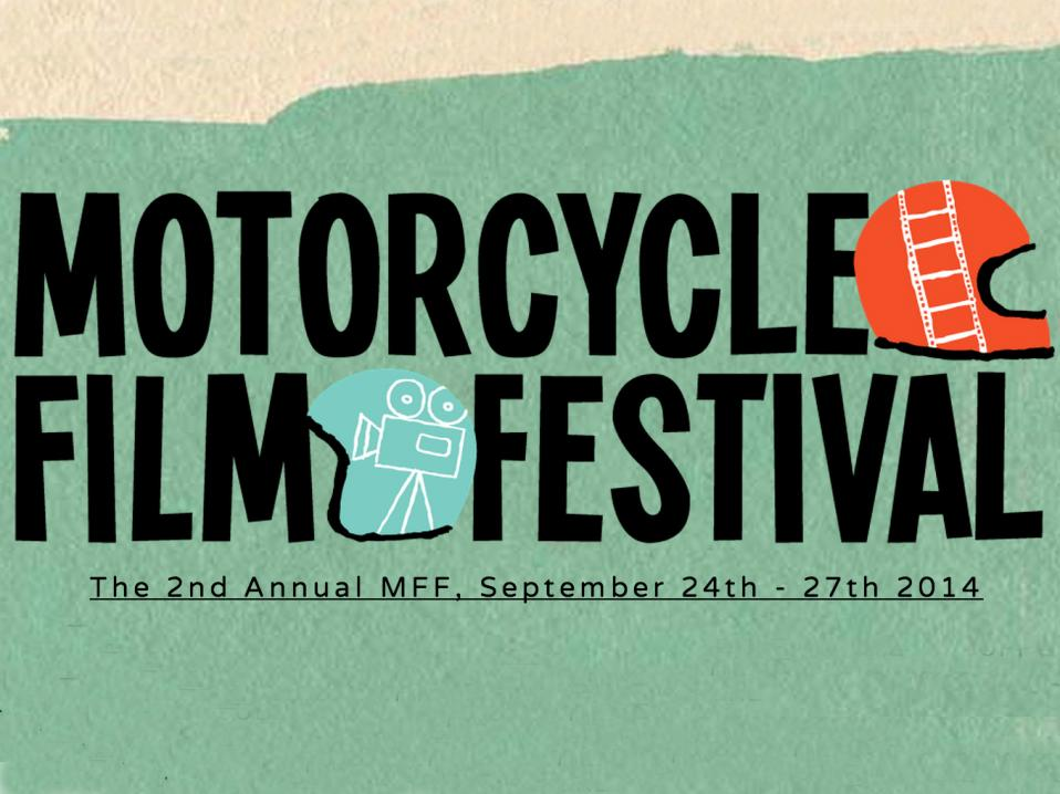 Motorcycle Film Festival -tunnus.