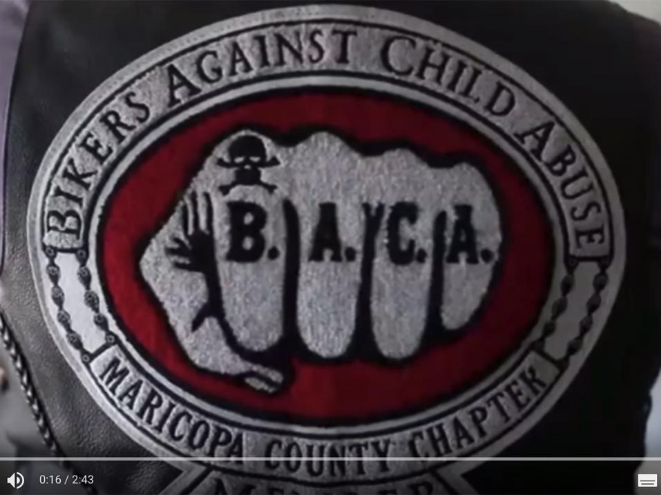 Bikers Against Child Abuse kerhon logo.