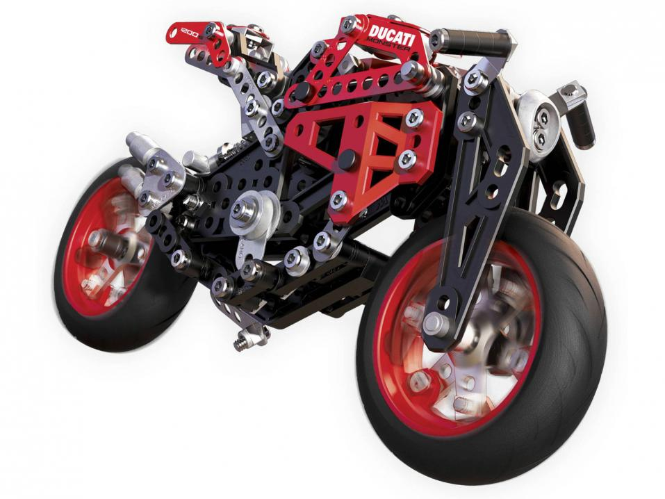 Meccano Ducati Monster 1200 S.
