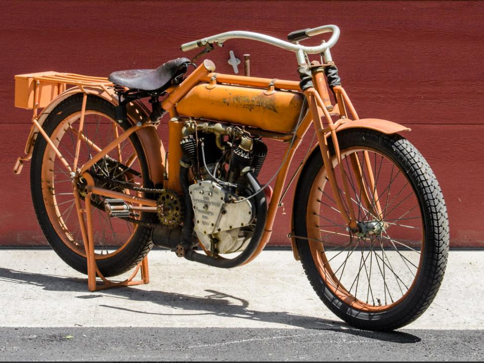 Flying Merkel 1914 Twin