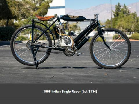1906 Indian Single Racer.