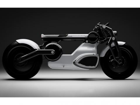 Curtiss Zeus Café Racer.
